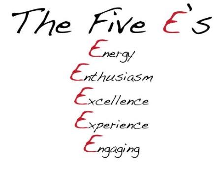 Five-E's